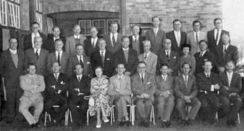 Photograph of South African chiropractic pioneers.