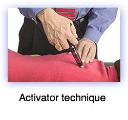 Activator technique