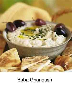 Baba Ghanoush at Delfshaven cafe.