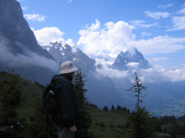 Walking benefits for Barrie in the Alps