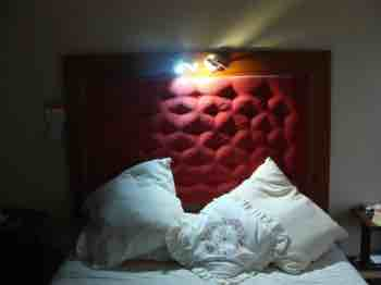 Good bedside lights are important for preventing neck pain and eye strain.