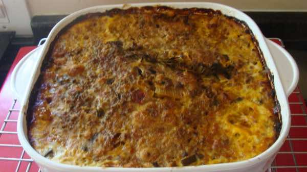 Bobotie recipes use ground beef and cumin