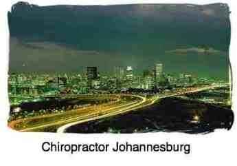 In amongst the lights of Johannesburg is where you'll find your local chiropractor.