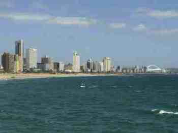 The Durban waterfront has many chiropractors.