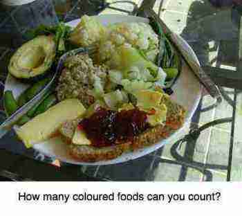 This five colours salad is a powerful way to lower your cholesterol obviating the need for statins.