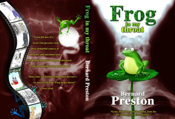 Frog in my Throat by Dr Bernard Preston has several examples of leg pain sciatica.