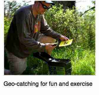 Geo catching exercise.