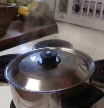 Grean beans steam