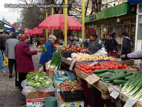 Fresh food from the markets is all about healthy living.