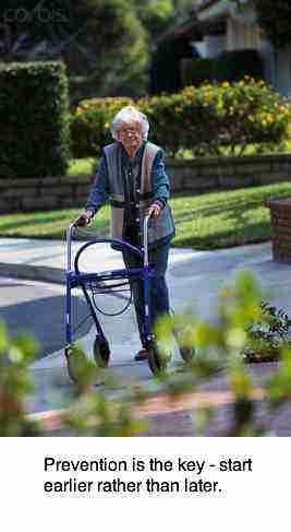 Osteoporosis walker