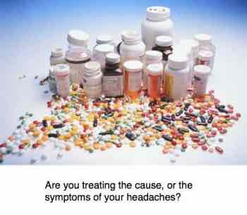 Painkillers taken too frequently actually cause headaches.