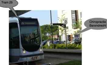 Chiropractic Barendrecht tram.