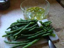 Green bean salad.