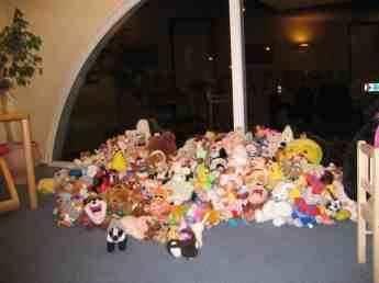 Millions of teddybears