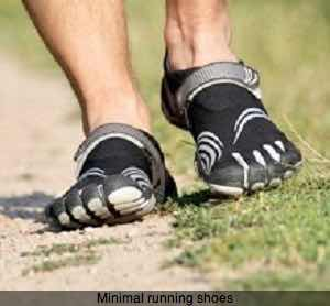 Minimal running shoes reduce loading rates.