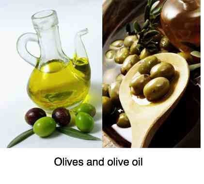 Olives and olive oil decanter benefits.