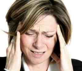 Like this woman, could your headaches be coming from your TMJ? The jaw joint.
