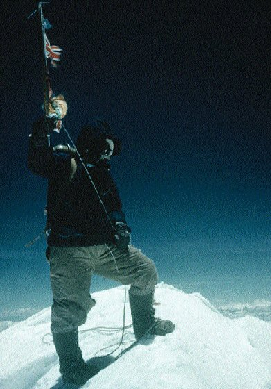 Walking benefits Mount Everest